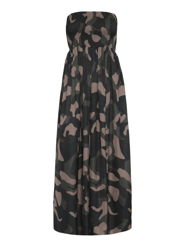 Juliette Dress – Camouflage (primary)