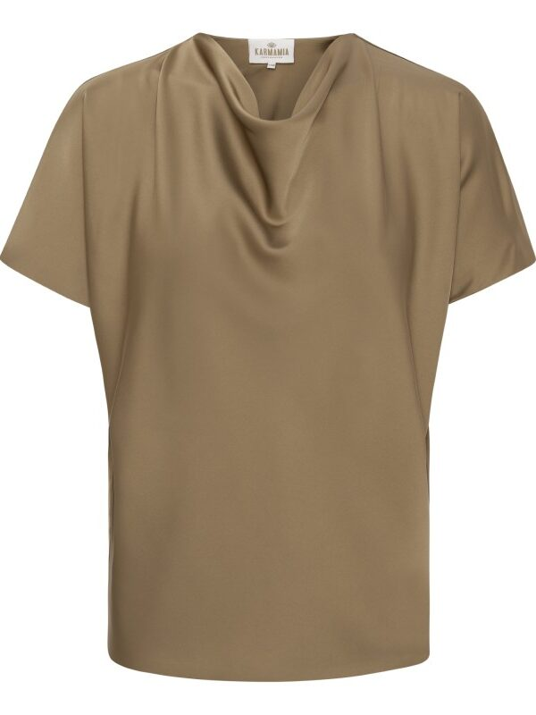 Peony Blouse – Taupe L-XL