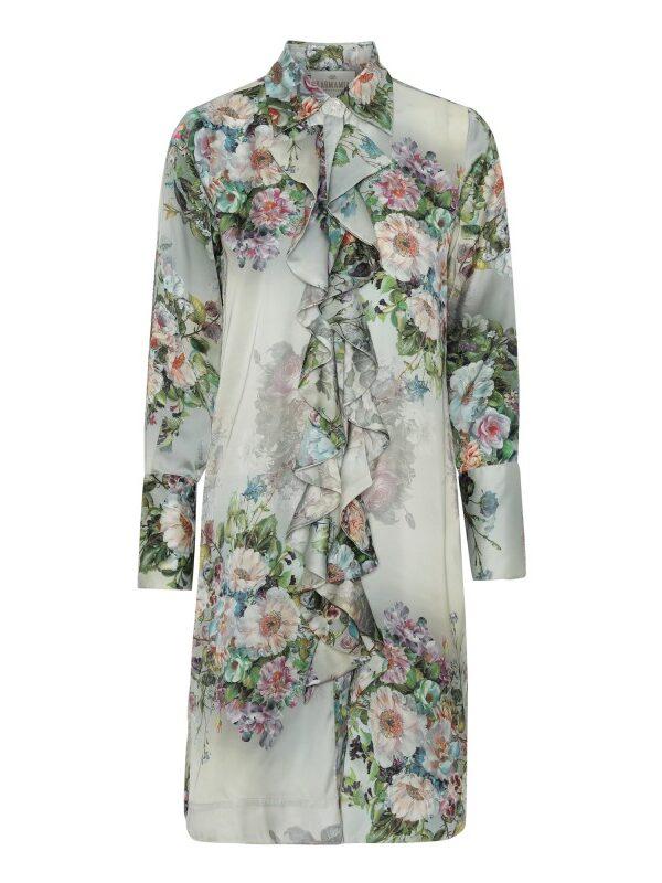 Ruffle Kimono (short) – Daisy Green M